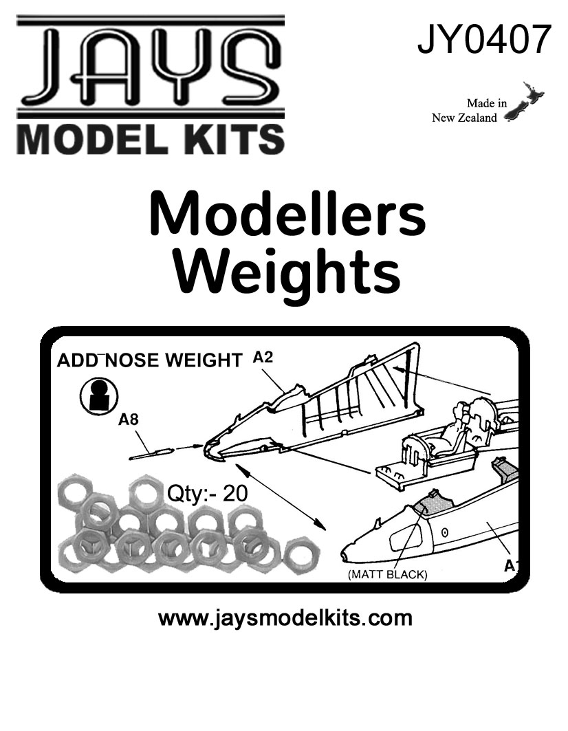 JY0407 Metal Modelling Weights