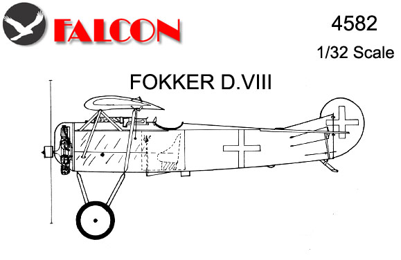 4582 Vac-Form Fokker DVIII Kit
