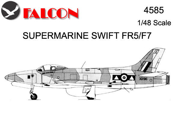 4585 Vac-Form Kit - Supermarine Swift