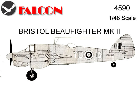 4590 Vac-Form Kit - Beaufighter Mk.II