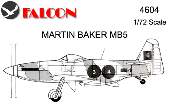 4604 Vac-Form Martin Baker MB5 Kit