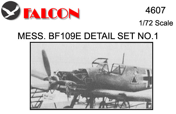4607 Bf109E Special Detail Set No.1