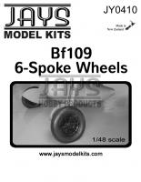 JY0410 Bf109 6-Spoke Wheels