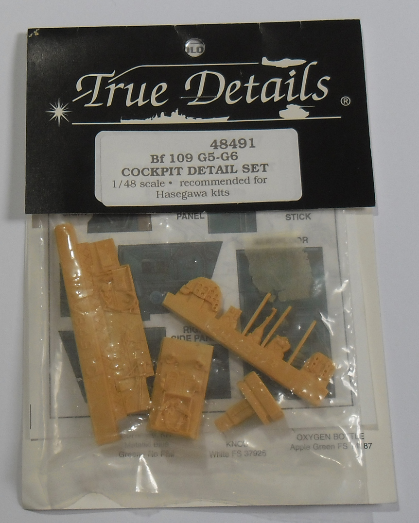 48491 Bf109 G-5/6 Cockpit Detail Set