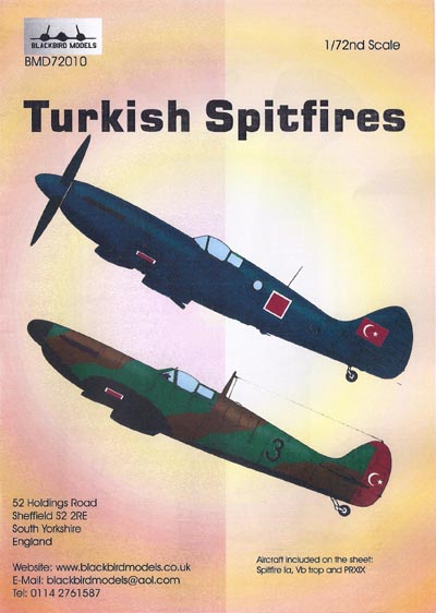 BMD72010 Turkish Spitfires