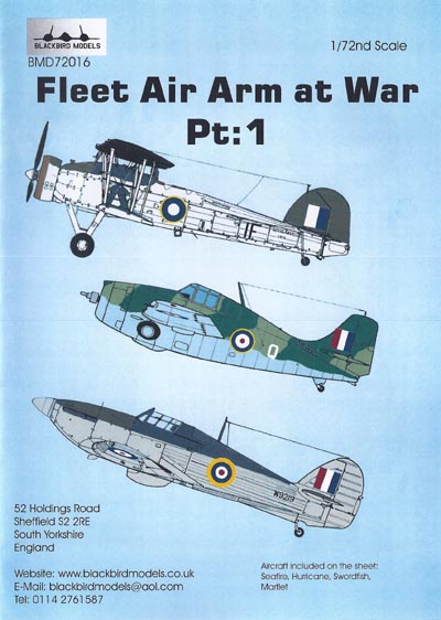 BMD72016 Fleet Air Arm at War Pt.1