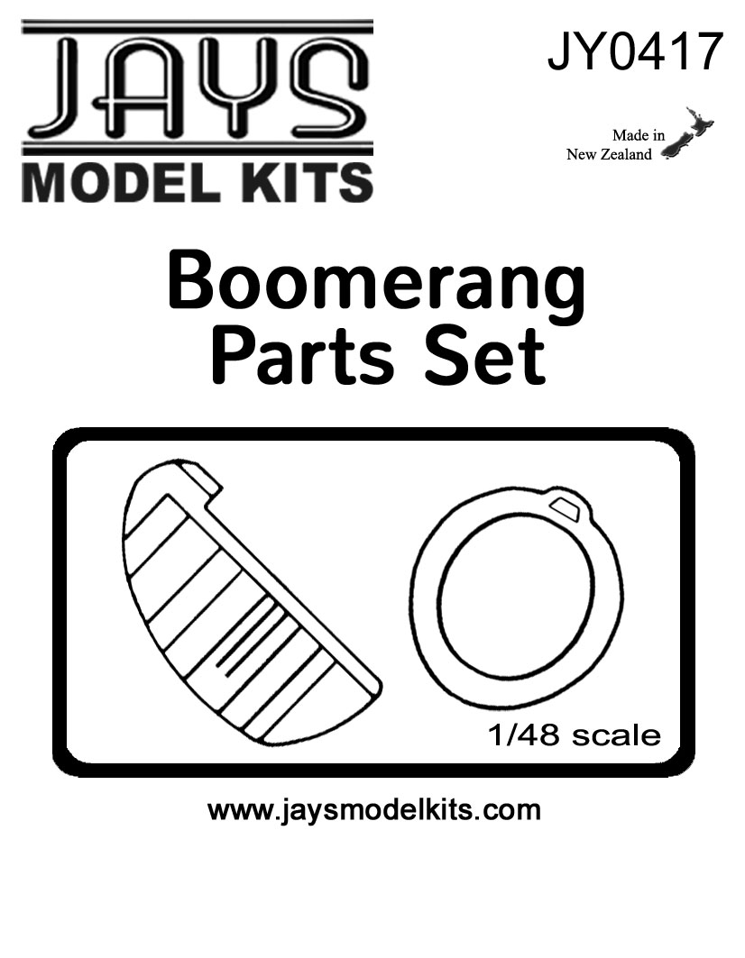 JY0417 Boomerang Tail & Engine Cowling Set