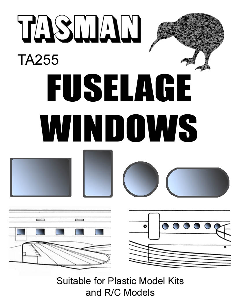 TA255 Fuselage Windows
