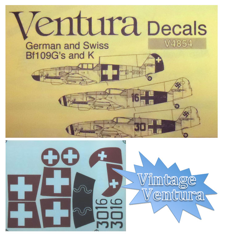 V4854 German and Swiss Bf109G's and K